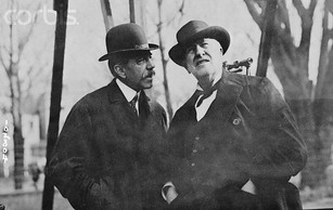Peter Cooper Hewitt and George Westinghouse